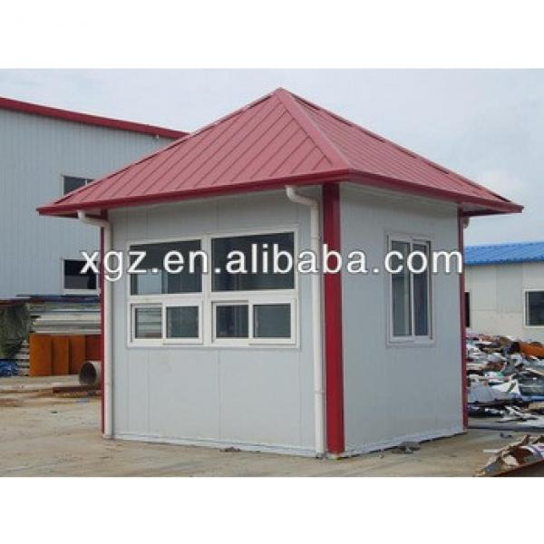 Hipped roof steel frame prefabricated home #1 image