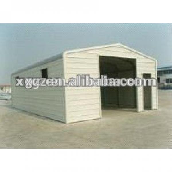 China Supplier Prefabricated Building Metal Garage #1 image