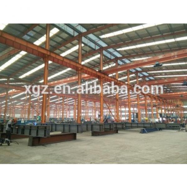 Long Span Industrial Design Prefabricated Warehouse Steel Structure #1 image