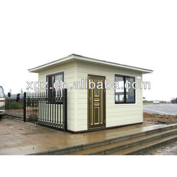 Beautiful flat roof steel frame prefabricated house #1 image