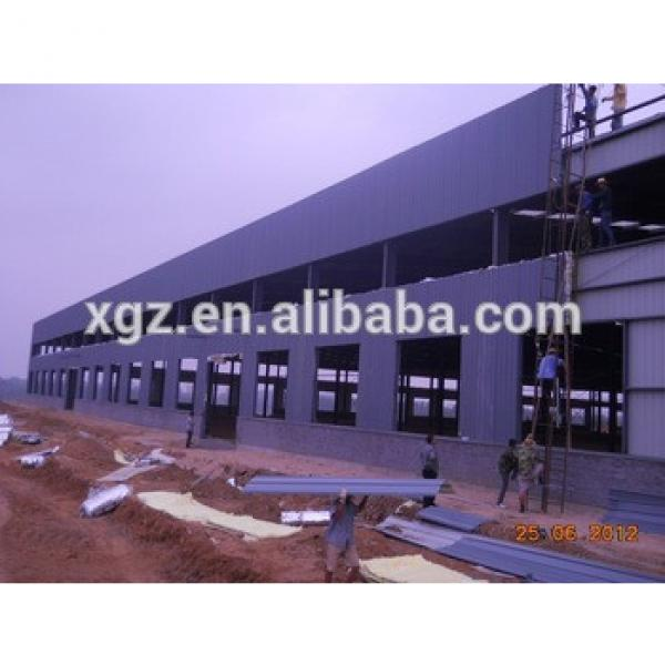 Shed house or steel structure shed design prefab warehouse #1 image