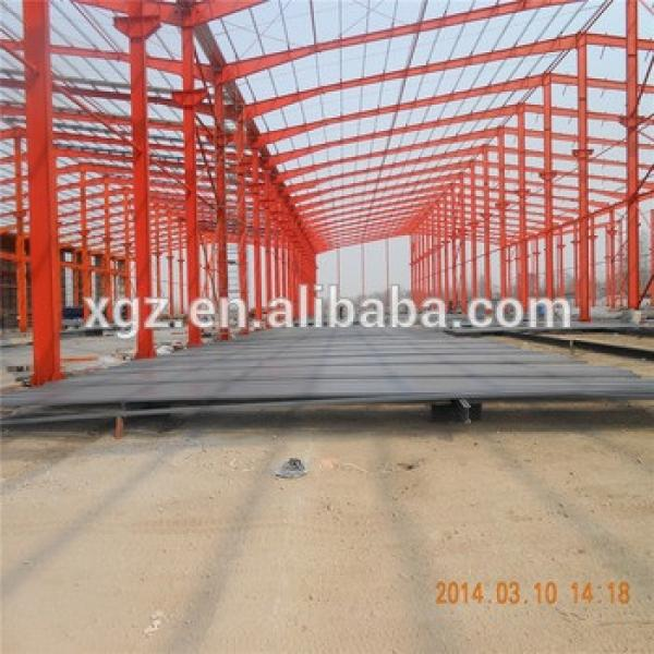customized light portal frame workshop manufacture customized steel warehouse #1 image