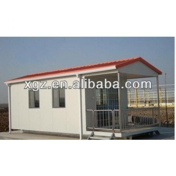 Slop roof steel structure prefabricated house for apartment #1 image