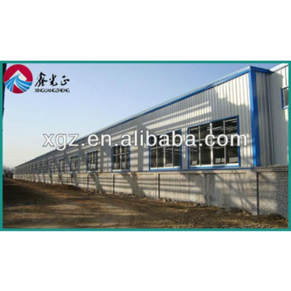 galvanized steel structure prefabricated warehouse in Africa #1 image