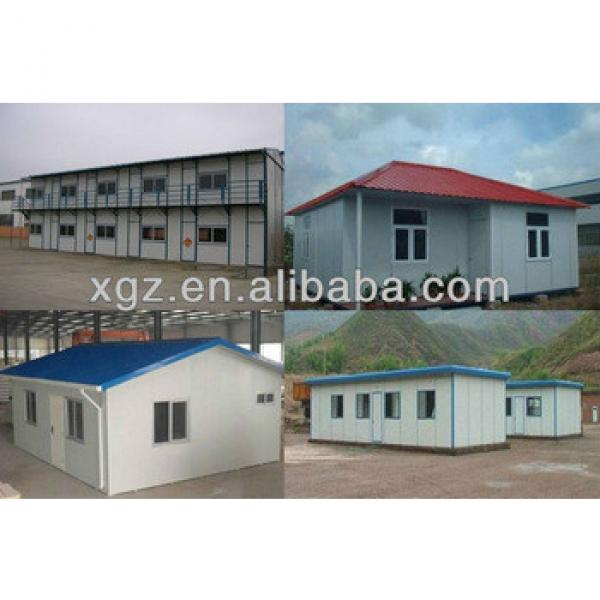 low cost flexible size prefabricated house/shed #1 image