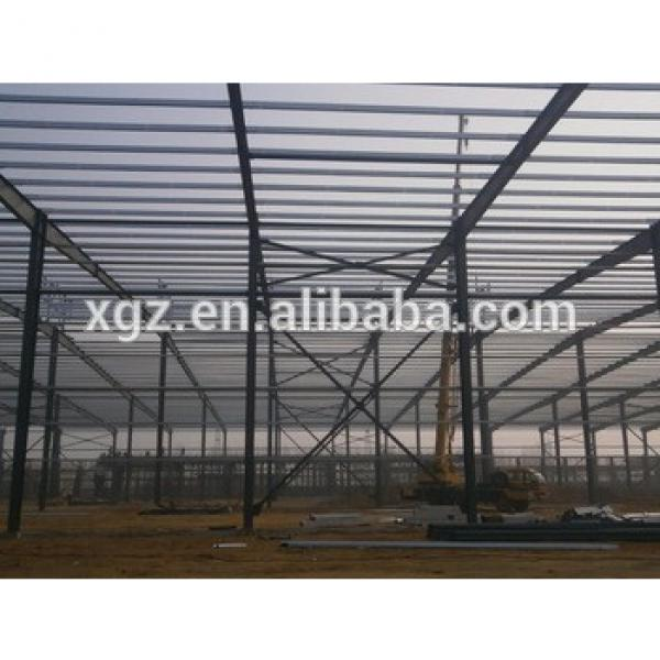 prefabricated steel structure steel roof structure #1 image