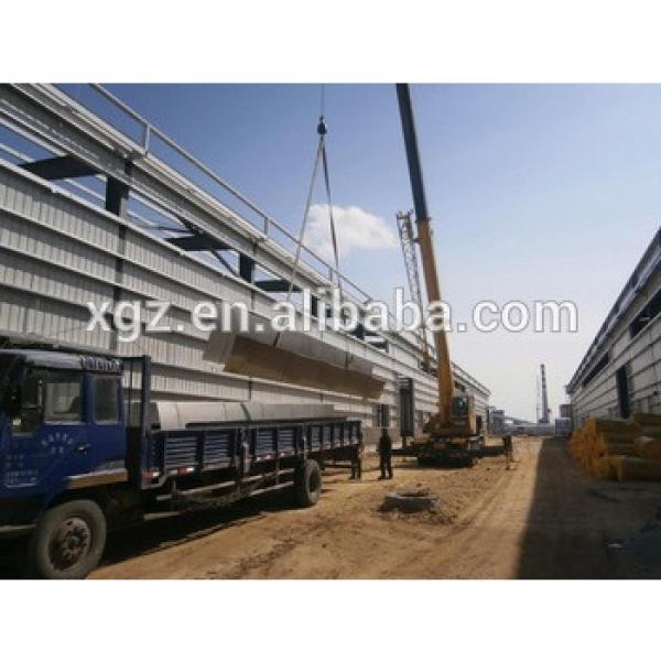 prefab steel frame garage workshop buildings #1 image