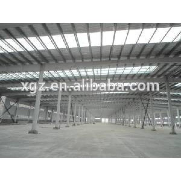 warehouse crane portal steel frame warehouse prefabricated steel warehouse for sale #1 image