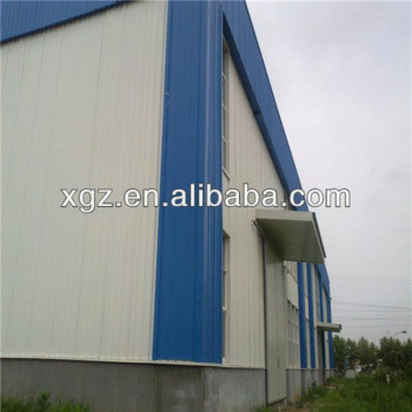 metal prefabricated garage light steel hall magnetic power plant #1 image