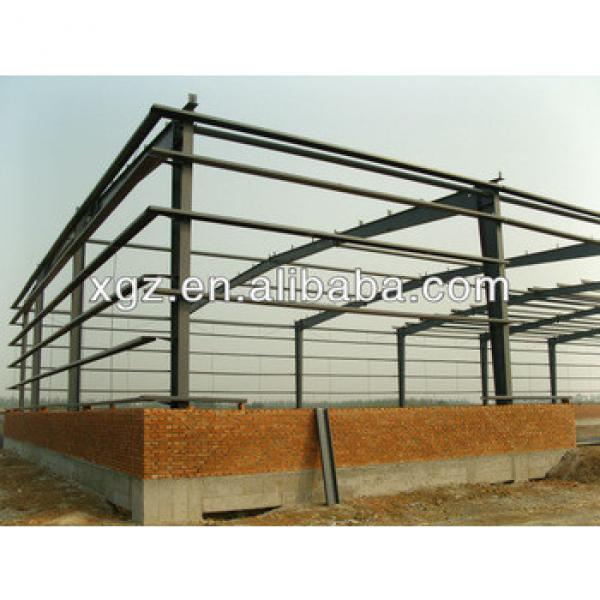 construction design steel structure warehouse steel frame carport #1 image