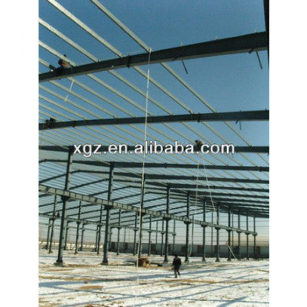 large span steel space frame structure warehouse #1 image