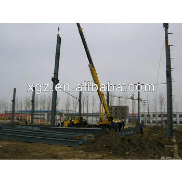 steel structure building manufacturing plant #1 image