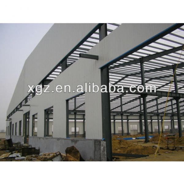 portal frame steel structure warehouse light steel frame buildings industry #1 image