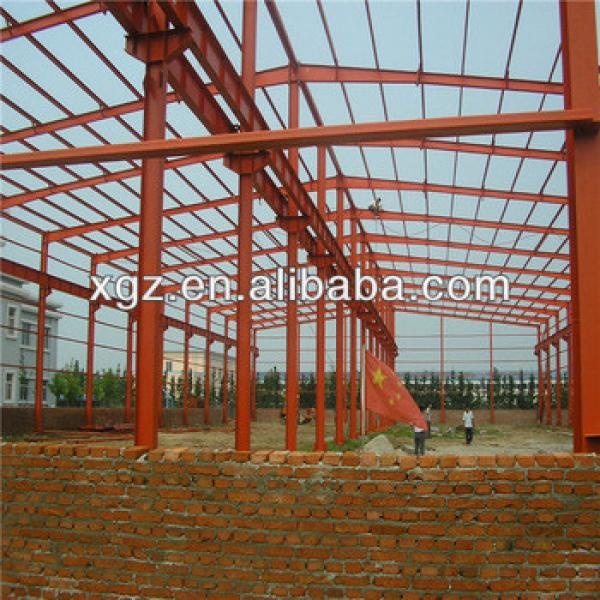 prefabricated steel tube space frame tube truss steel structure steel structure factory #1 image