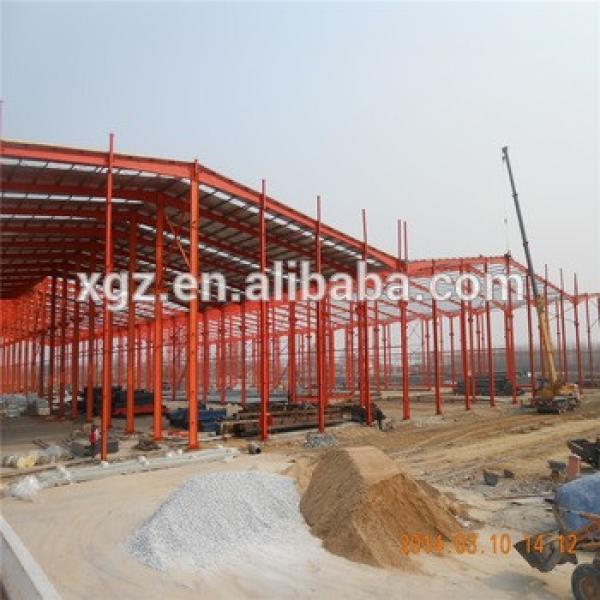 steel structure fabrication prefab steel farm warehouse light steel portal frame #1 image