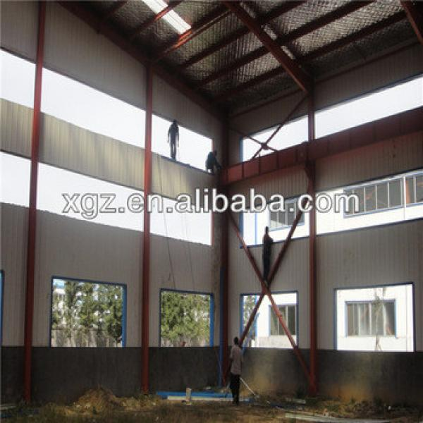 long span roofing materials portal steel frame roof futsal arena #1 image