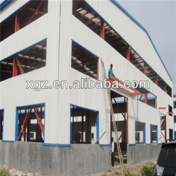 aircrafr hangar light steel structure shopping mall frame construction building #1 image
