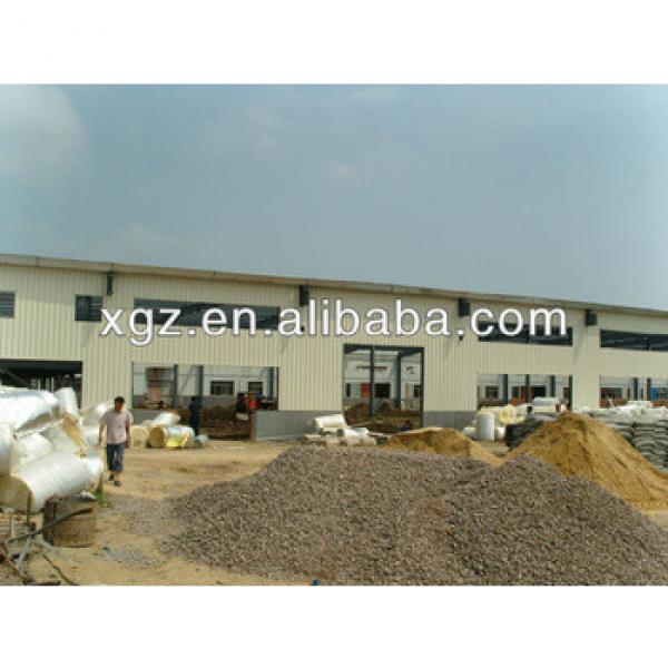 hangar building prefabricated aircraft hangar light steel thin-walled structures #1 image