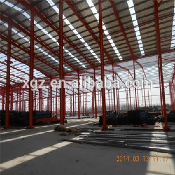 construction metal sheds factory steel structure warehouse design #1 image
