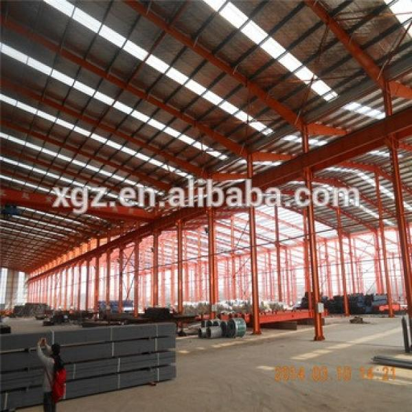 prefabricated steel structure design large storage building cost warehouse building kit #1 image