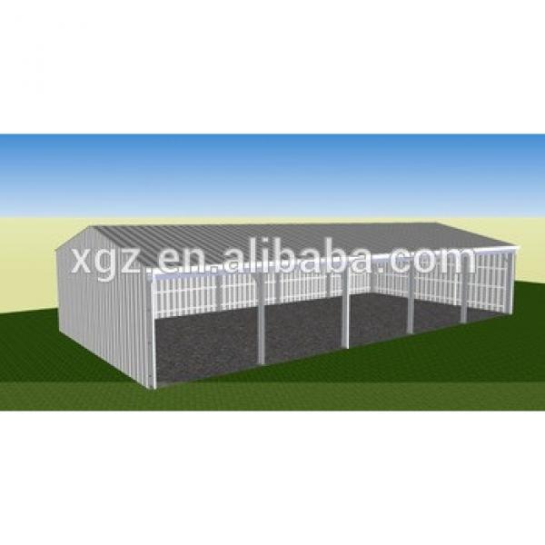 Australia prefabricated barn style sheds machinery shed for AU #1 image