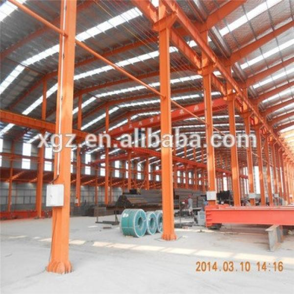 factory steel structure building in Dubai design workshop plant #1 image
