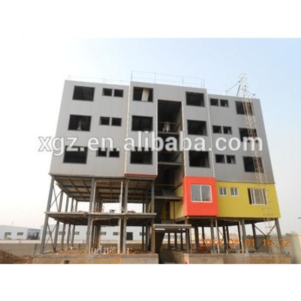 Large span high rise steel structure building construction #1 image