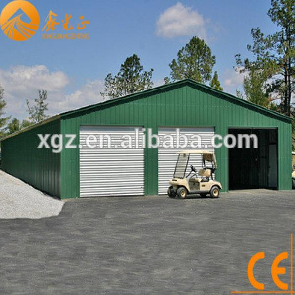Prefabricated steel structure tool shed #1 image