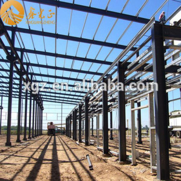 Large Span Prefabricated Steel Structure Building #1 image