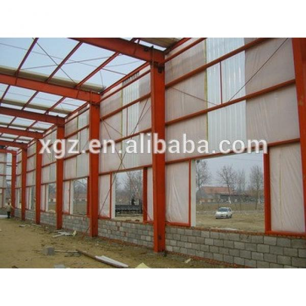 Large scale demountable prefabricated steel structure workshop without crane #1 image