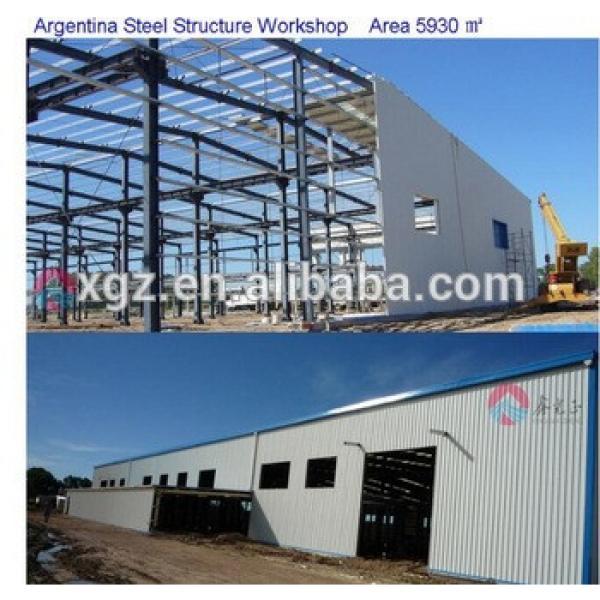 Design prefab light steel structures workshop #1 image