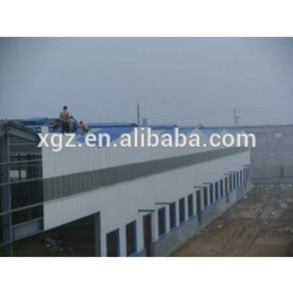 Demountable steel construction factory building workshop/warehouse #1 image
