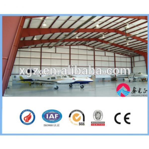 Prefabricated building large-span steel structure hangar #1 image