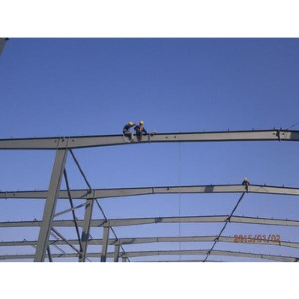 Easy Installation Low Price Steel Structure Prefabricated Industrial Shed Construction #1 image