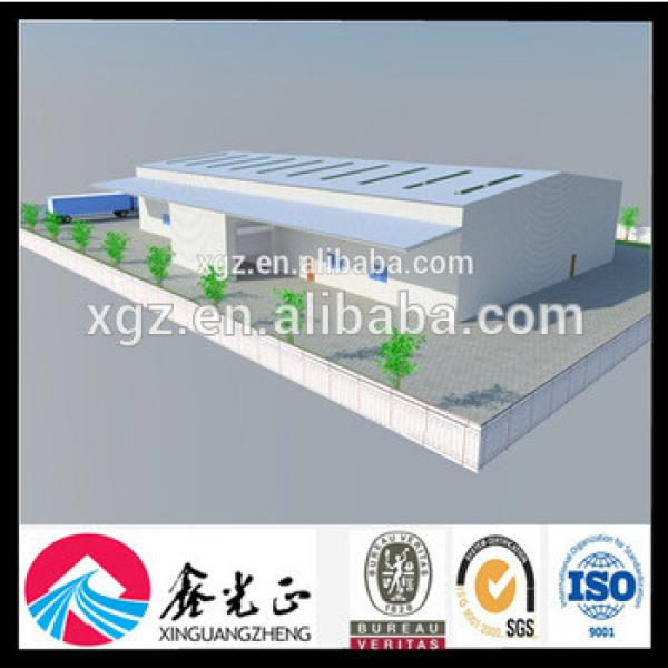 2017 Hot Prefabricated Steel Structure Warehouse #1 image