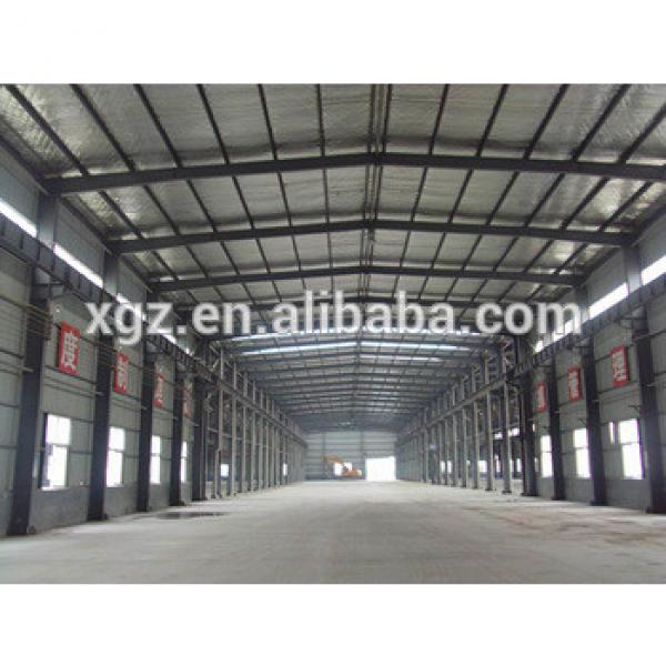 China Portal Frame Steel Structure Warehouse #1 image