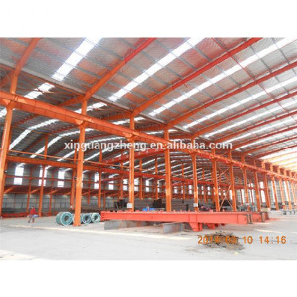 Large Span Warehouse with Crane #1 image
