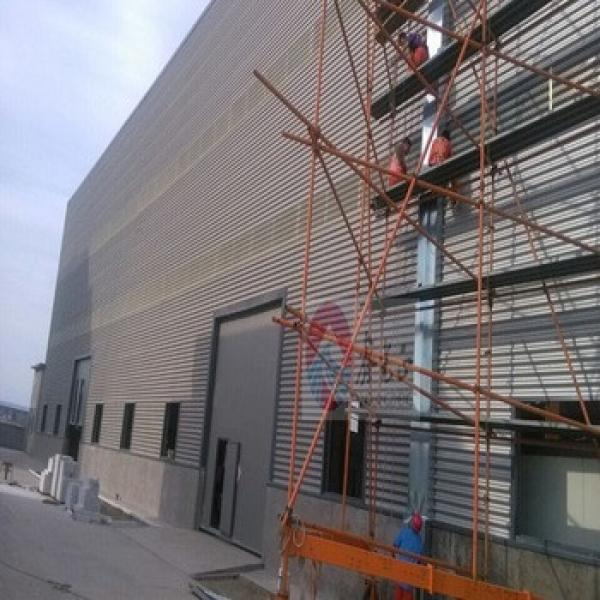 pre fabricated steel structures Steel Frame Warehouse/ Workshop #1 image