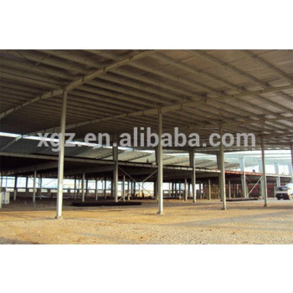 steel structure zinc plate warehouse #1 image