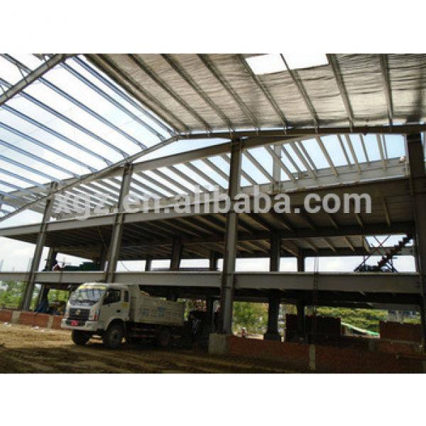 Light weight steel structure pre fabricated warehouse frame #1 image