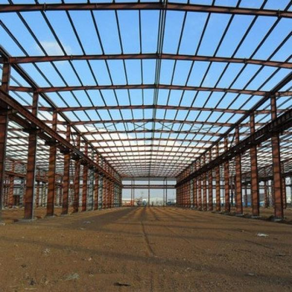 pre engineered steel structure construction site #1 image