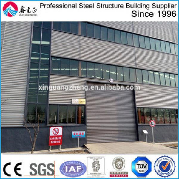 pre-engineer steel buidling construction structure warehouse #1 image