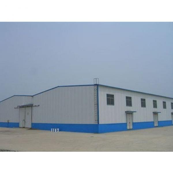 Metal Steel Prefab Warehouse Building #1 image