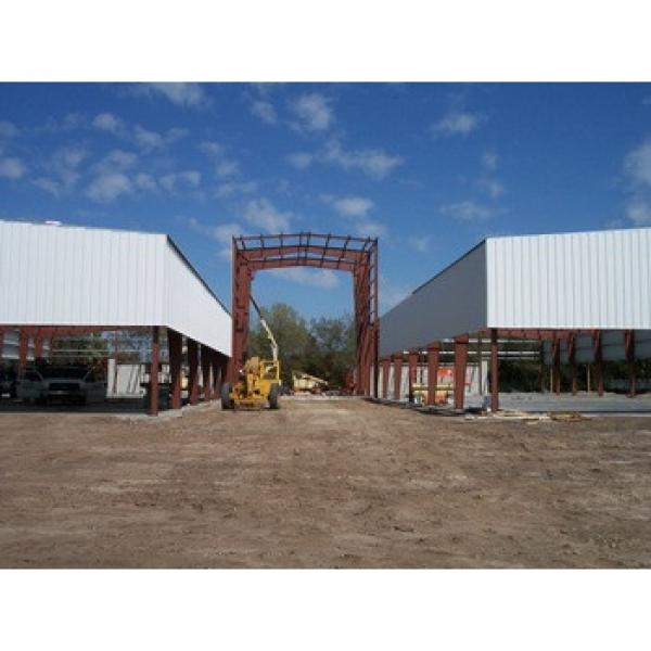 Easy and Clean Installation Steel Structure Prefabricated Warehouse #1 image