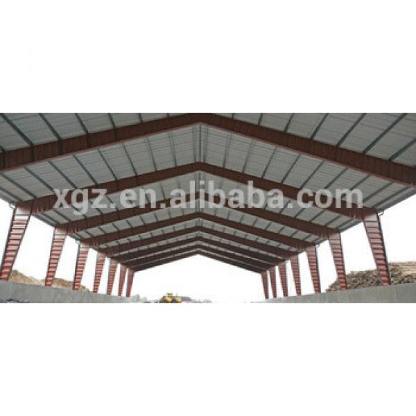 corrugated sheet steel roof structure #1 image