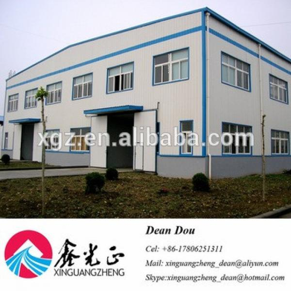 Low-price Professional Designed Steel Structure Industrial Warehouse with Bridge Crane Manufacturer China #1 image