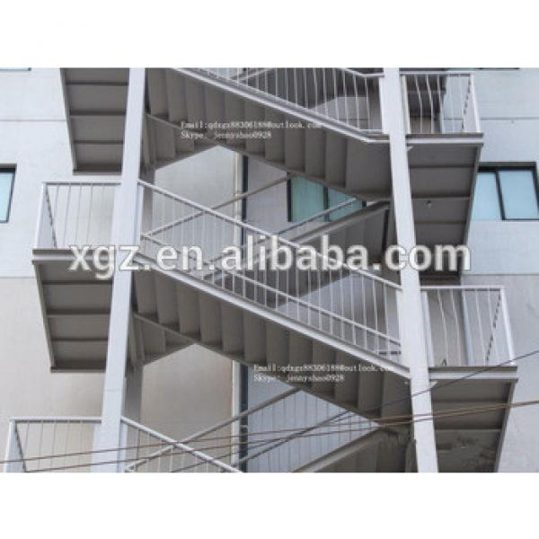 Steel structure simple stair used for warehouse,workshop,office,living house #1 image