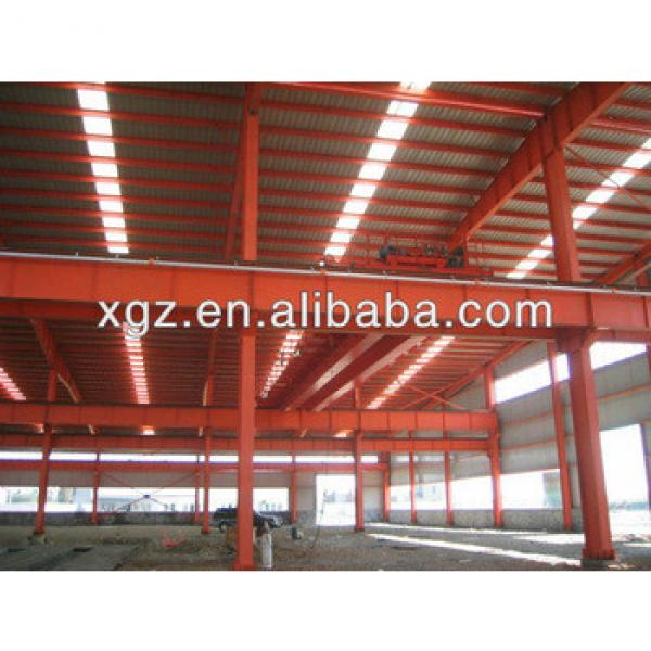 Pre-fabricated light steel structure warehouse with certification #1 image