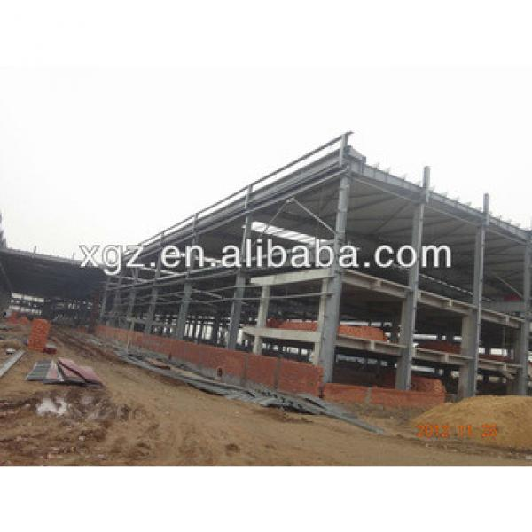 steel structure materials hot rolled steel beam and sandwich panel #1 image