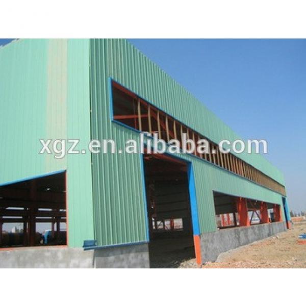 Prefabricated Workshop quick installation easy installation galvanized warehouse #1 image